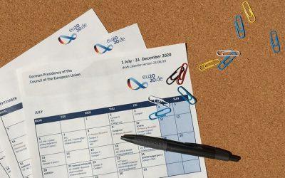 Digitaler Kalender der deutschen Ratspräsidentschaft online