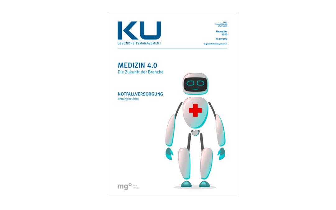 Artikel in KU Gesundheitsmanagement zu Telemedizin und Telemonitoring